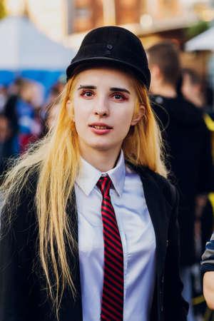 September 22, 2018 Kiev, Ukraine, Art Plant Platform. festival of modern pop culture COMIC CON. Editorial