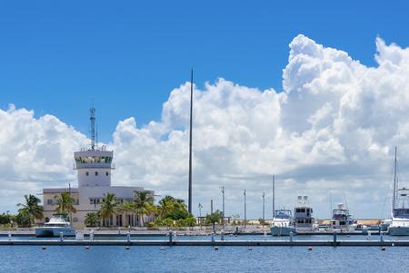 varadero: New Marina harbor in Cuba Varadero Stock Photo