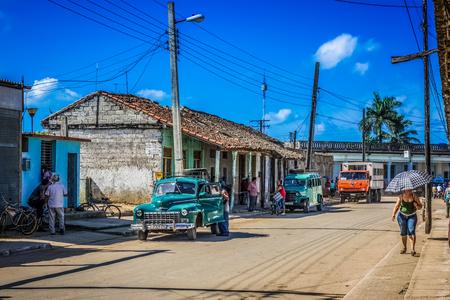 streetlife: Street scenery in Santa Clara Cuba Cuba reportage series