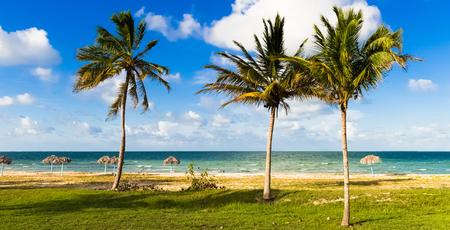 Caribbean beach scenery in Varadero Cuba - Serie Cuba Reportage