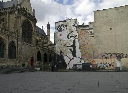 Keep silence  Graffiti on the area of Stravinsky