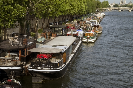 Some Parisians prefer to live on a barge