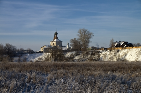 Old church in Suzdal on a clear winter day Stock Photo - 17742570