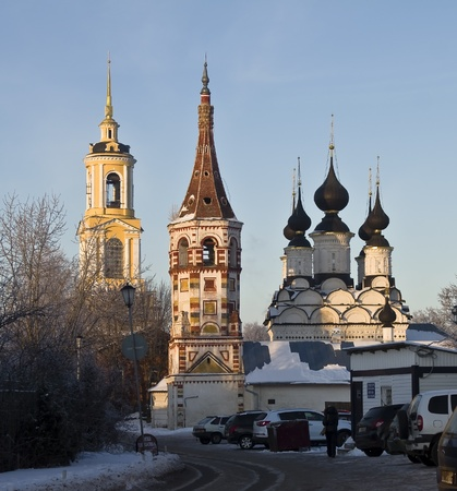 Church and bell tower in Suzdal, Russia Stock Photo - 17742578