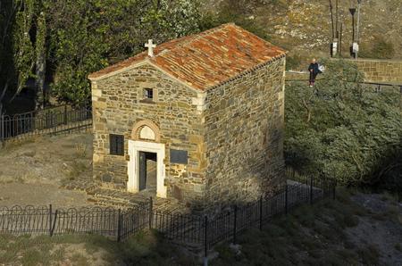 sudak: Temple of the Twelve Apostles, Sudak, Crimea   Stock Photo