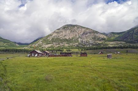 buryatia: A small village in Buryatia, Siberia, Russia