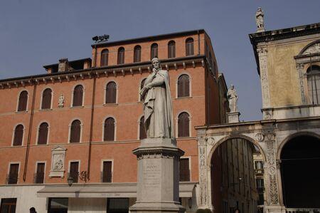 Dante Square, Verona Italy