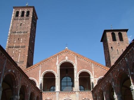 Basilica di Sant Ambrogio, Milan, Italy