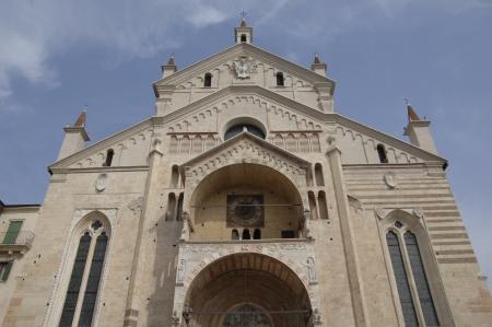 Duomo, Verona, Italy Stock Photo