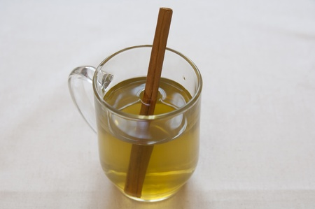 Close-up view of Organic Cinnamon Infusion