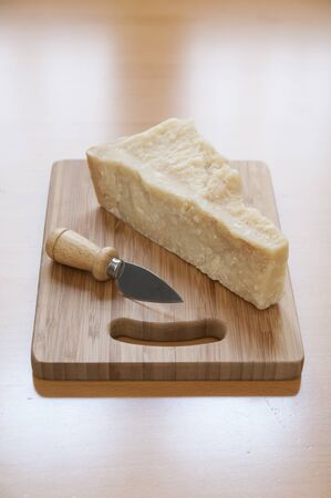Close-up view of italian Parmesan Cheese Stock Photo - 17824801