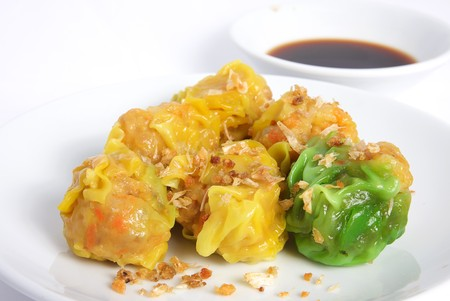 Deliciously Steamed Chinese Dim Sum Chinese Steamed Dumpling