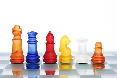 A game of chess comes to an end. The king is checkmated. Stock Photo - 7344541