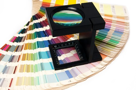 Press color management - print production Stock Photo - 8084683