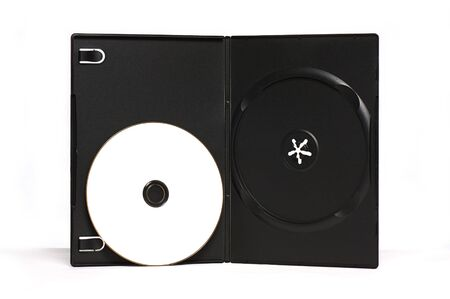 CD or DVD and its boxes Ideal for packaging purposes Stock Photo - 8423707