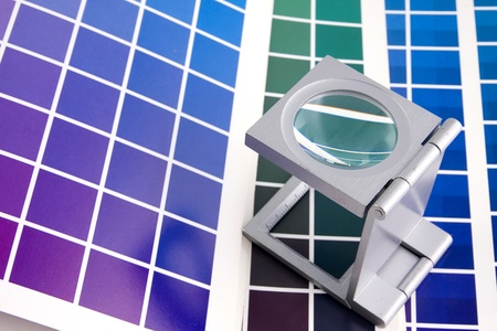 Press color management - print production