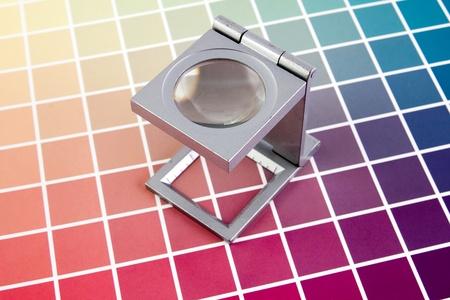 Press color management - print production Stock Photo - 9494552