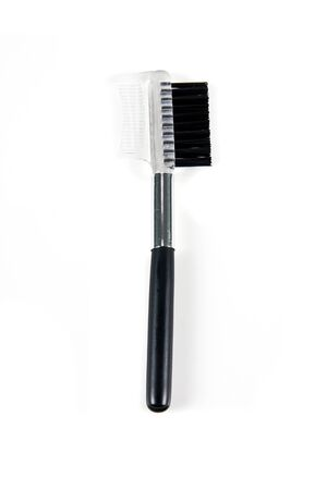 Cosmetic Brushes on white background Stock Photo - 10020187