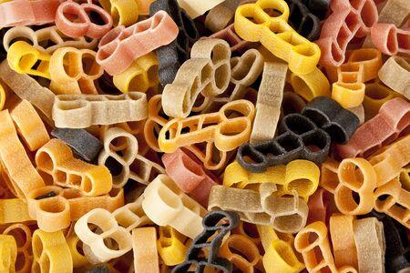 pene: Italiano pene di pasta di forma del pene La pasta � una cosa divertente avere a una festa di addio al nubilato