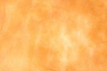 Closeup orange napkin texture paper