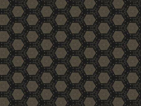 seamless: Kaleidoscope symmetrical background Stock Photo