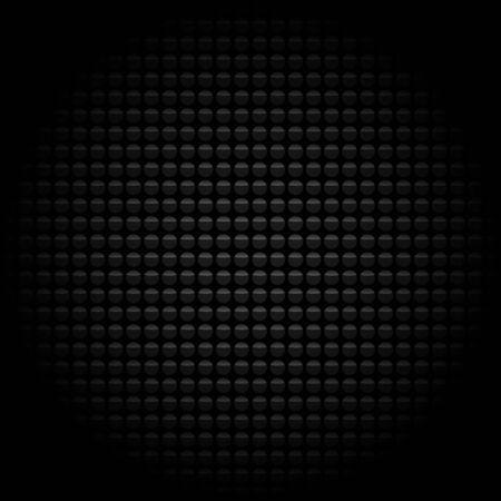 convex shape: abstract background with black balls