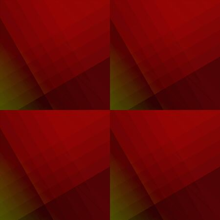 Abstract squared background from striped shapes