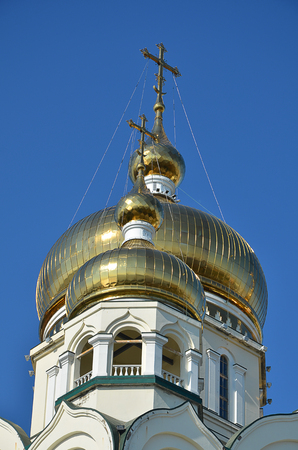 The dome of the Russian Orthodox Church