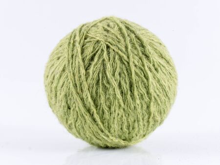 wool ball: Image of  wool ball, isolated close up.