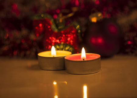 Image of christmas toys close up. photo