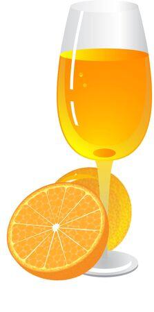 sappy: Glass of orange juice