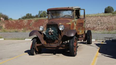rusty: Rusty oldtimer