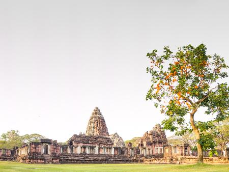 nakhon: Prasat Hin Phi mai, Historical Park Phimai Khmer Sanctuary,one of important religious sanctuary,Nakhon Ratchasima thailand.