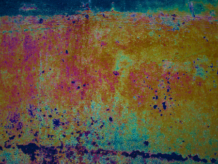 oxidation: Colorful blurred abstract background , (abstract from rust colored background blur)