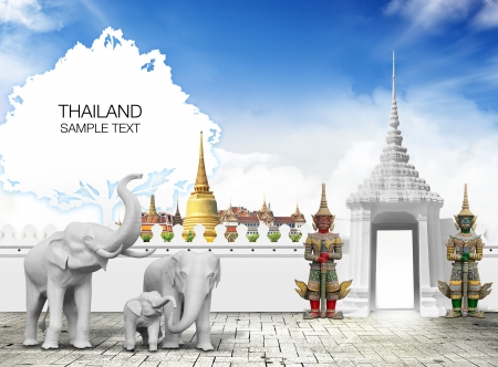 Thailand travel concept Stock Photo - 15200476