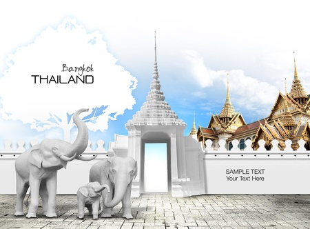 Thailand travel concept Stock Photo - 15200474
