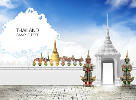 Thailand travel concept Stock Photo - 15200475