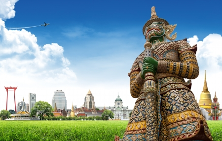 Travel concept, Bangkok THAILAND Stock Photo - 14997025