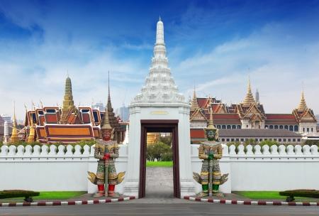 Travel concept, Bangkok THAILAND photo