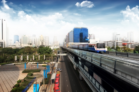 Thailand s Sky train photo