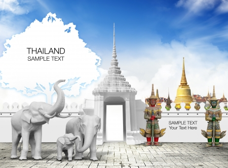 Thailand travel concept photo