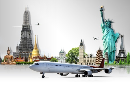 worldwide: Travel the world Stock Photo