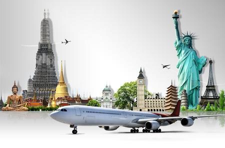 weltweit: Um die Welt reisen