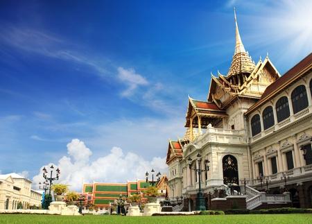 east asian ethnicity: The Grand Palace, Bangkok Thailand Editorial