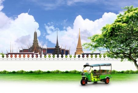 Thailand travel concept photo