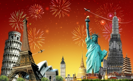 pise: Travel The World, Festival, concept