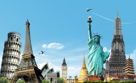 Viaja el mundo, concepto Foto de archivo - 17722349