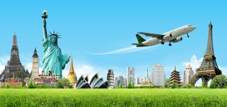 viagem: Viajar pelo mundo, conceito