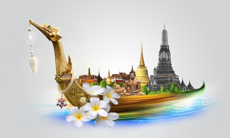Thailand travel concept Stock Photo - 17872014