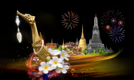 Thailand travel concept Stock Photo - 17872007